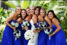COLOUR: Blue / Need some colour inspiration for your wedding party?