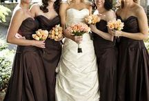 COLOUR: Brown / Need some colour inspiration for your wedding party?