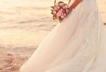 BEACH Weddings / Ideas, inspiration, decorations, invitations and of course, dresses!