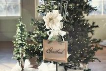 CHRISTMAS Weddings / Ideas, inspiration, decorations, invitations and of course, dresses!