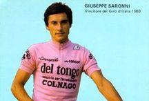 Wielrennen - Roze trui / Roze trui - Maglia Rosa - Pink Jersey - Giro d'Italia - Ronde van Italië - La gazetta dello sport