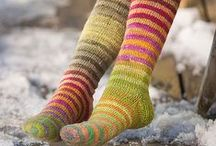 Knitting - Socks and Sock Yarn / Knit sock patterns, tutorials and yarn