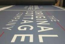 digital printed graphics / Full colour digitally printed graphics fresh from our HP latex printer.