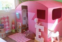 Детская / Интересные идеи для оформления комнаты малыша
