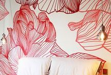 Υπνοδωμάτιο - Ζωγραφική στον τοίχο / Οι ιδέες του Artease Design Lab για τον τοίχο της κρεβατοκάμαρας