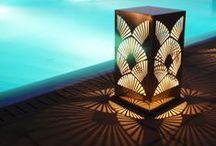 "Mykonos private party / Εικαστική εγκατάσταση για το concept  ""Reflections"". Ιδιωτικό πάρτυ σε κατοικία στη Μύκονο."