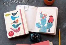 j  o  u  r  n  a  l / diary     journal     collage