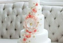 """Wedding Dessert Love / Beautiful wedding cakes, awesome dessert bars, cute cupcakes and one of a kind edible designs. What follows is lovely inspiration for """"a sweet ending to a new beginning""""."""