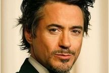 Films / A board in homage to Robert Downey Jnr a fantastic actor and beautiful handsome man to boot