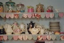 Bunting Corner / Lots and lots of bunting cause everyone needs a bit of bunting in their life