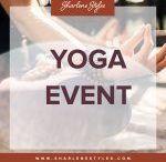 Upcoming Events / Where Health & Fun intersect: Events, Yoga Classes, Cooking Classes, Talks, Learnshops, Mini Retreats, Niagara & Lifestyles Experiences