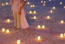 Beach Weddings / Unique and personal inspiration for a fabulously romantic beach wedding or tropical wedding