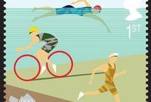 Triathlon - it's just swim, bike, run thing / Triathlon training ,quotes and gifts I like