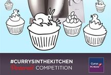 #CurrysInTheKitchen / Curry's Easter competition perfect cup cake pairings
