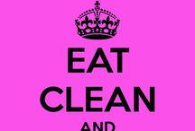 Eat clean Train dirty / Tips, facts and foods to help you eat clean. Because fitness improvements are seen quicker when you #eatclean and train dirty