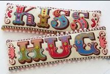 Crosstitch & Embroidery - Korsstygn & Broderi / by Ing-Mari Shafiebieg