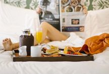 breakfast in bed......not just for weekends!