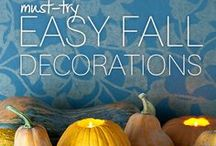 Fall Harvest Decorating / Decor using your Fall Harvest #Pumpkins, #mums, #corn & more. Happy Fall!