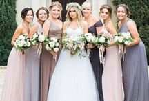 Beautiful Bridesmaids / Bridesmaid looks to inspire your perfect wedding party look!