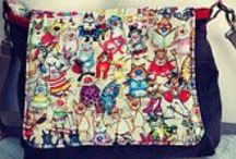 Bunting Corner on Etsy / An eclectic mix of bunting, bags, purse and bookmarks
