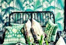 arte en casa / art à la maison / Rodearse de belleza es posible. Art is all around us.