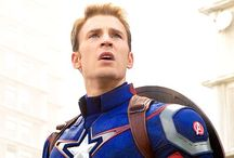 Captain America/ Chris Evans / Also Bucky Barnes because who doesn't love him!!!