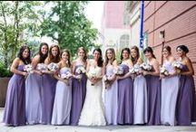 L&H Bridesmaids / Our lovely L&H Bridal Bridesmaids.  Get the look at L&H Bridal!
