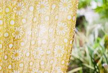 ♥ Jaune / yellow / ambre, banane, citron, miel, mimosa, orpiment, safran, or, vanille, moutarde...