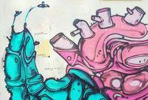s  t  r  e  e  t  a  r  t / street paint, street art, sokak sanatı