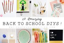 ..B..Back to (School).. / If you are looking for back to school inspiration for your kids after the School Holidays, then this is the board for you.