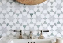 Tiles / Tiles that we love to look at and use as inspiration.
