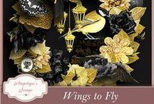Wings to Fly by Angelique's Scraps / by Angelique's Scraps ( digital scrapbooking)