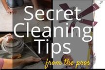 Cleaning Tips, Tricks and Hacks / Most people love to save time or find some great cleaning tips to make life a little easier at home. Here are my very favourite Cleaning Tips, Cleaning Hacks and Cleaning Schedules found on Pinterest.