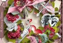 A Letter to my Valentine by Angelique's Scraps / Digital scrapbooking / by Angelique's Scraps ( digital scrapbooking)