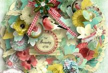 CT pages made with kit the Wonder of Summer / Ct pages made with the Digital Scrapbooking Kit The Wonder of Summer by Angelique's Scraps / by Angelique's Scraps