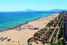 Playa de Gandia / Una de las mejores playas de España.