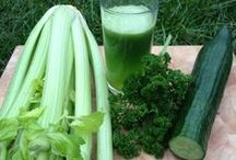 Vegetable juices - plant-based recipes / Green juices and other fresh vegetable juices, rich in nutrients and phytonutrients with numerous health benefits. Please visit my website at www.cookingforhealth.biz