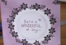 Handmade Cards / Papercraft and Cross Stitch Cards can be found here