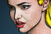 Face Painting / Amazing Face-Paintings Transform Models Into The 2D Works Of Famous Artists - www.kutsanvaleriya.com