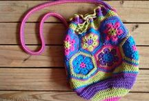 Crochet bags / Crochet patterns for all different kind of bags