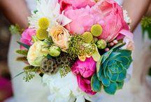 Courthouse wedding flowers