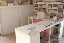 Sewing room re-furbish