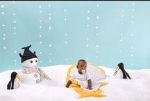 BABY BITES - Shooting Winter 2014-2015 / ¡Qué frío, hay hasta pingüinos!