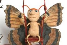 owady i nie tylko /felted and more insects