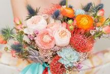 """Wedding Flowers / ...I made this board because you all have SO MANY gorgeous flower ideas, and it needed it's own designated place because I love flowers! So I moved all of the pins from the """"wedding decor"""" board to here. x0x0 - Ericka / by Ericka Staples"""