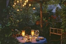 buiten / tuin en tuinkamer