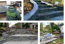 Hardscaping Completed by The Greener Side