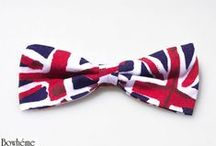 Mens bow ties by BOWHEME / Pre and self tied bow ties by Bowheme.