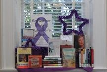 Library Book Displays / Displays and decorations in our Libraries