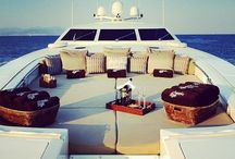 //Yachts & Light Aircraft Interiors / Interior design inspiration for luxury items by Sally Caroline Interior Design